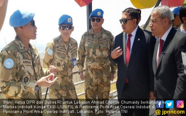 Prajurit TNI Mendapat Tempat di Hati Masyarakat Lebanon