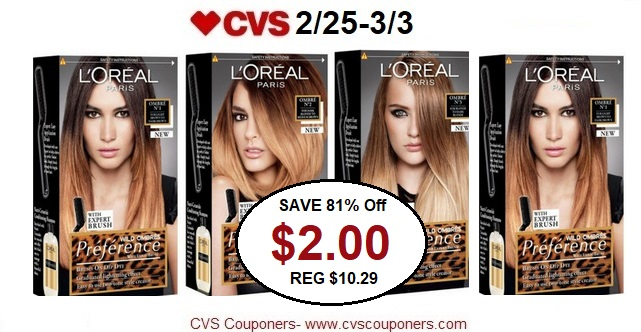http://www.cvscouponers.com/2018/02/save-81-off-loreal-preference-hair.html