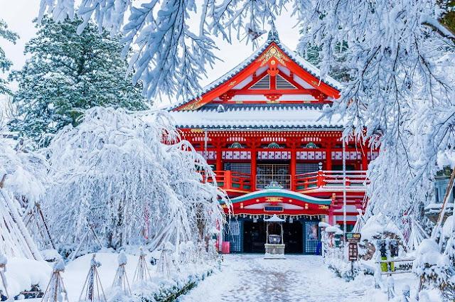 du lịch Nhật Bản vào mùa đông