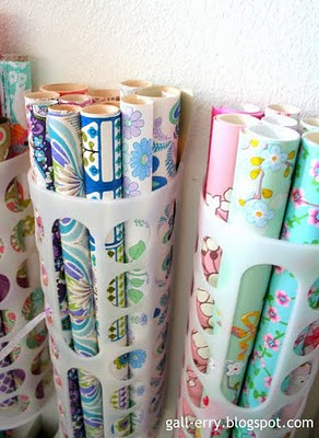 power home solutions 12 ways to organize wrapping paper. Black Bedroom Furniture Sets. Home Design Ideas