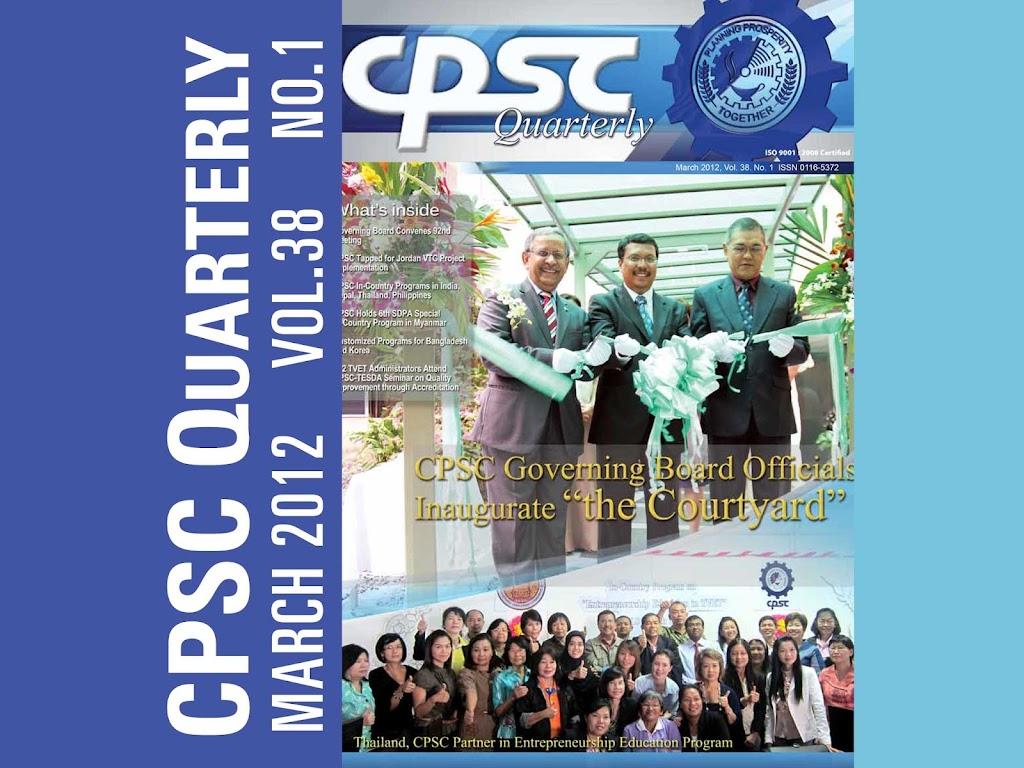 CPSC Quarterly March 2012