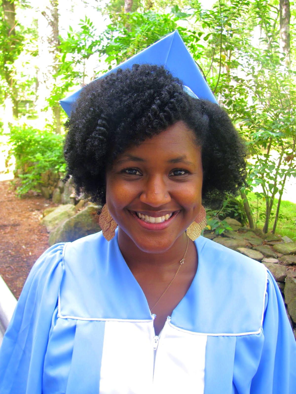 How To Wear Graduation Cap With Natural Hair