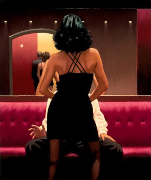 Dança Privada - Jack Vettriano e suas pinturas cheias de encontros íntimos