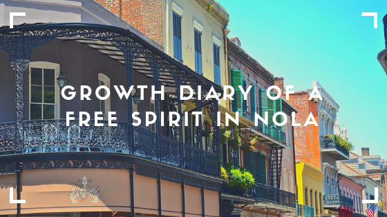 A personal development and personal growth of a free spirit living in New Orleans. The picture takes places in New Orleans French Quarters.