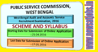 wbpsc+recruitment+2016+scheme+and+syllabus