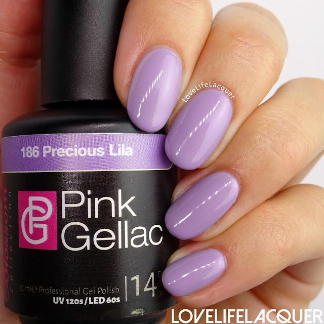 Pink Gellac Blossom Collection Precious Lila