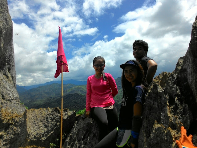 Group shot at Mt. Sipit Ulang Summit