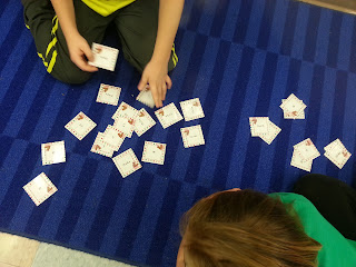 Addition facts- Holly Jolly Holiday Centers in Action