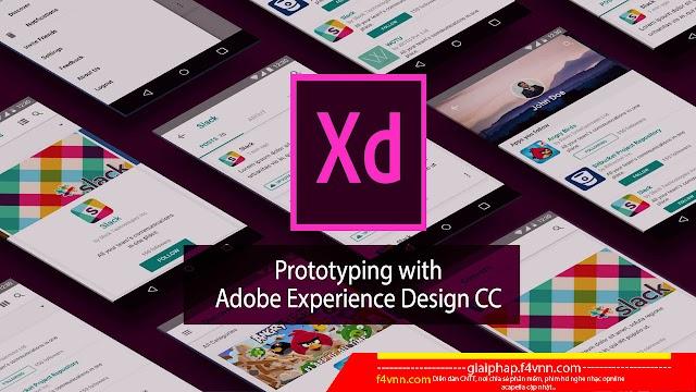 Adobe Experience Design CC 2018 - Thiết kế web và ứng dụng di động