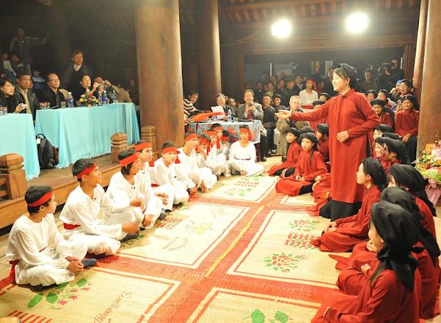 Xoan festival in Phu Tho province 1