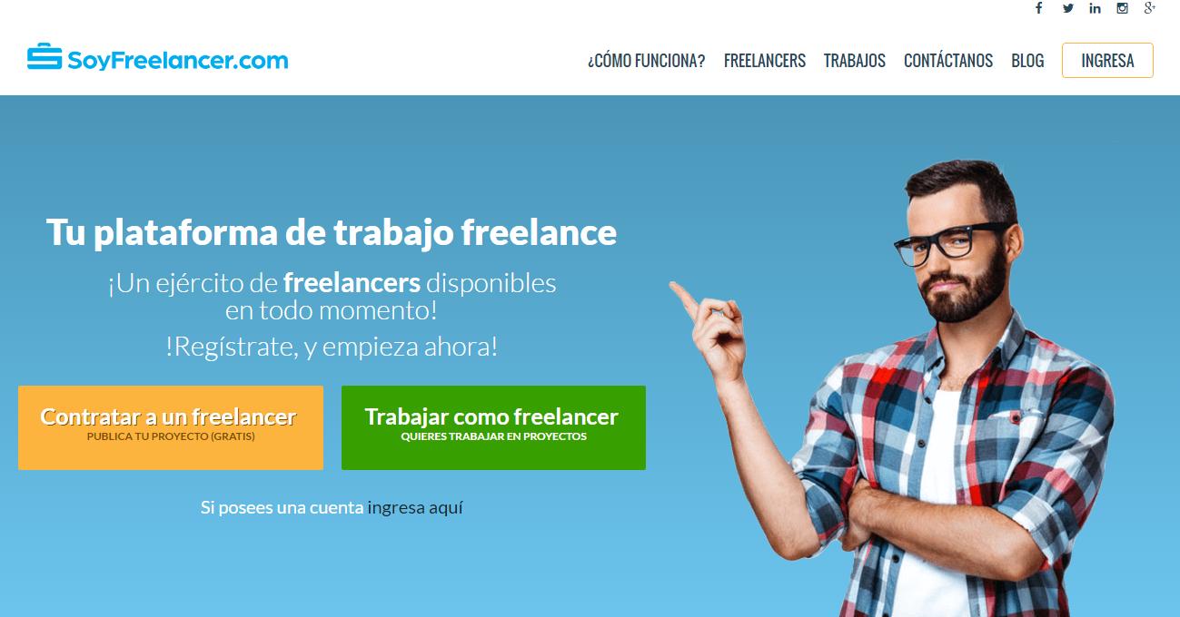 SoyFreelancer.com, una plataforma de trabajo freelance en español ...