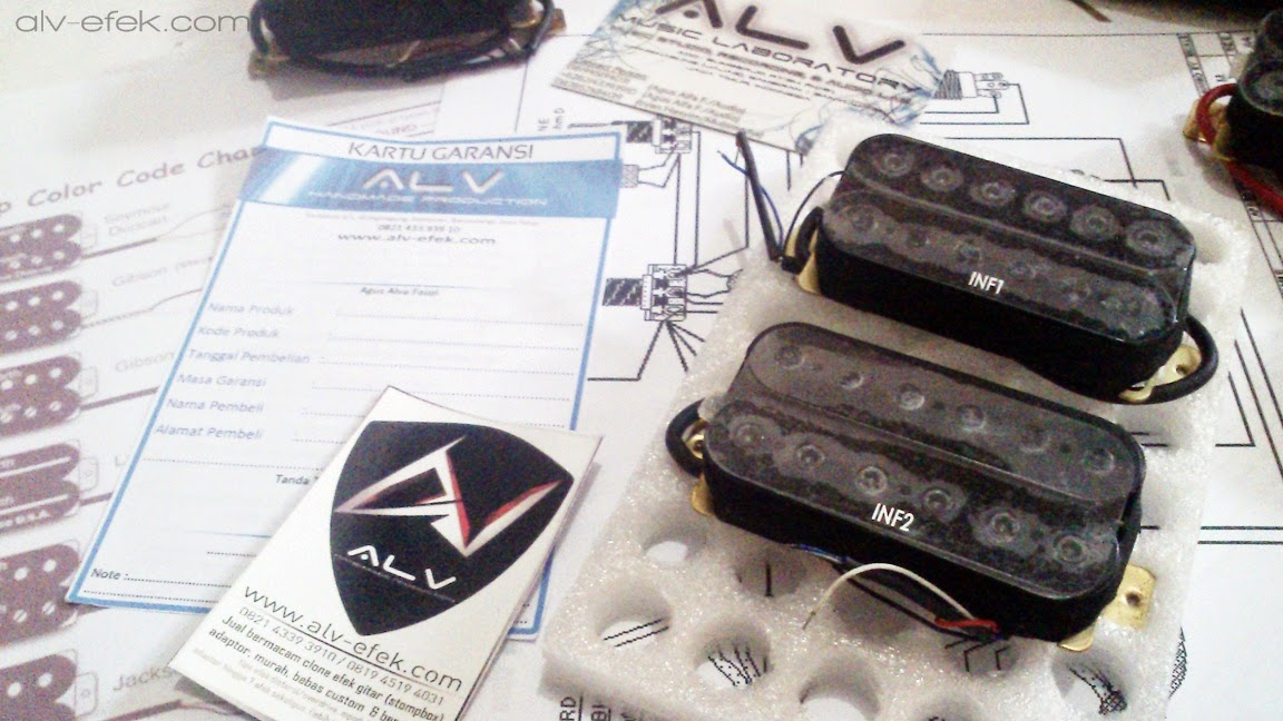 Jual Pick Up Spul Gitar Quantum INF3 INF4 INF1 INF2