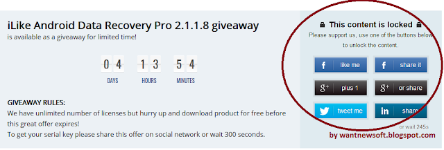 iLike Android Data Recovery Pro giveaway
