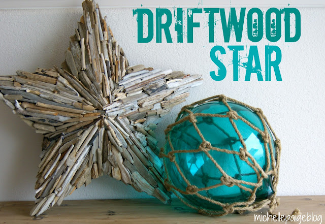 How to easily make a driftwood star.