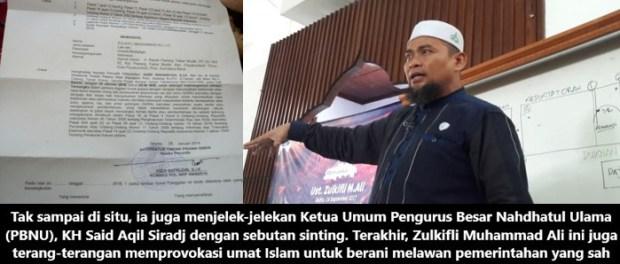 Ustaz Zulkifli Muhammad Jadi Tersangka Ceramah Hate Speech