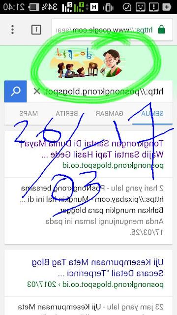 Penampakan yang Muncul di Google Search 26 Maret 2017