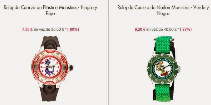 Relojes monstruos