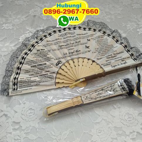 grosir Undangan Kipas Blacu Packaging Box harga grosir 53748