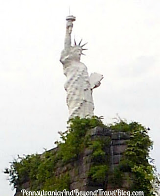 Dauphin Narrows Statue of Liberty in Dauphin Pennsylvania
