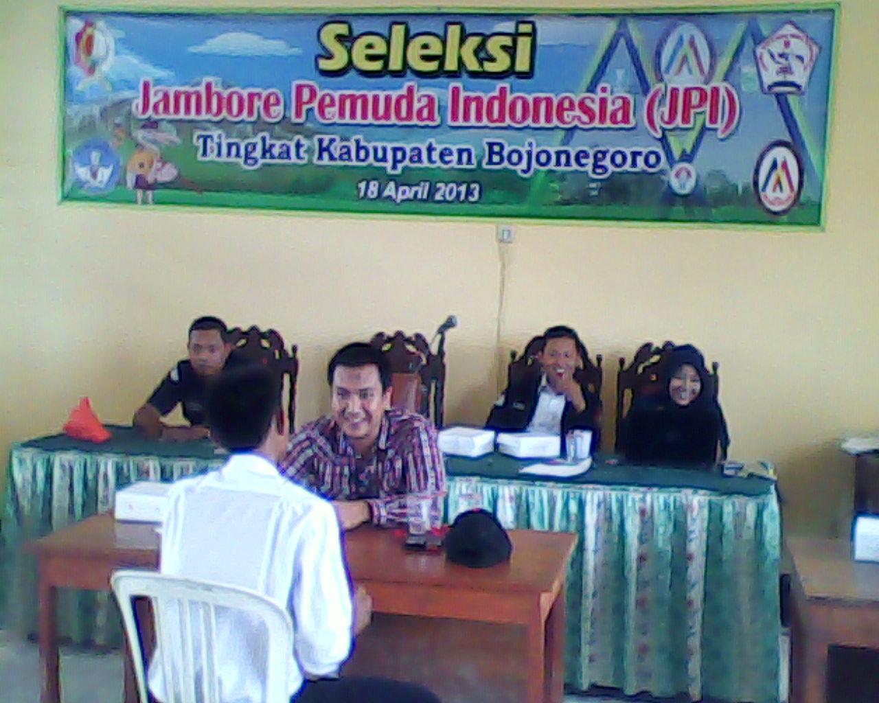 Seleksi JPI tingkat Kabupaten Bojonegoro tahun 2013