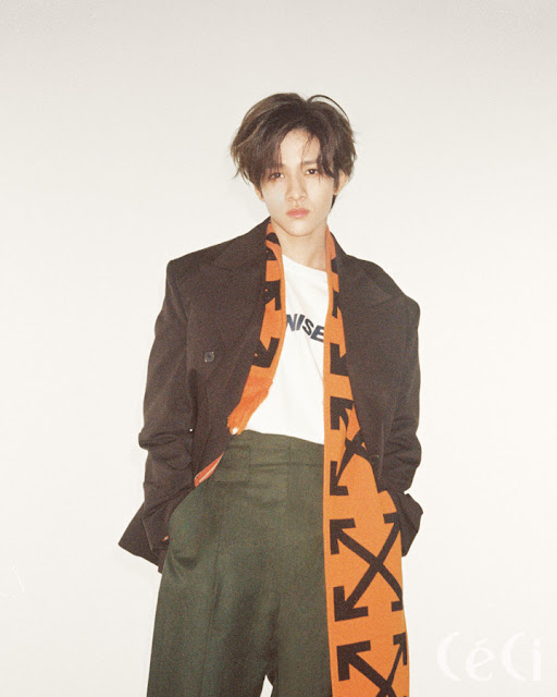 Kim Samuel For Ceci Magazine