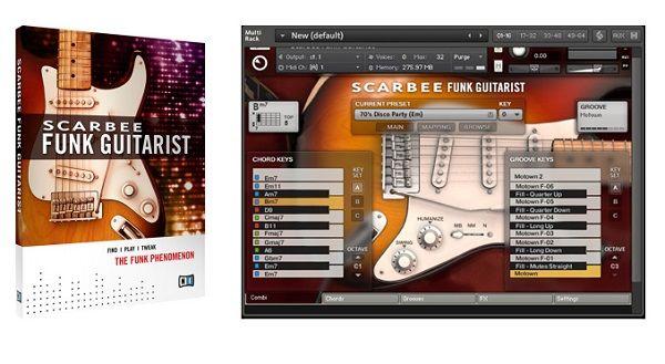 NI Scarbee Funk Guitarist Guitarra Eléctrica VST