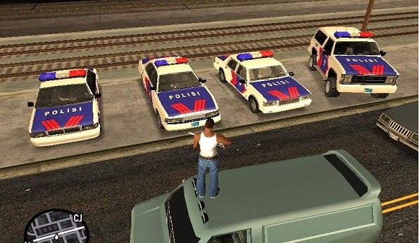 Original Police Vehicles Indonesia Pack Gtaind Mod Gta Indonesia