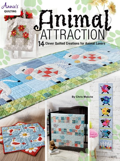 Read the Review and Questions with the Author of New Animal Attraction Quilt Pattern Book