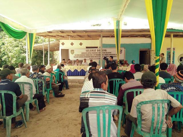 Cuhar ke Dewan Minta Jalan Provinsi Diperbaiki