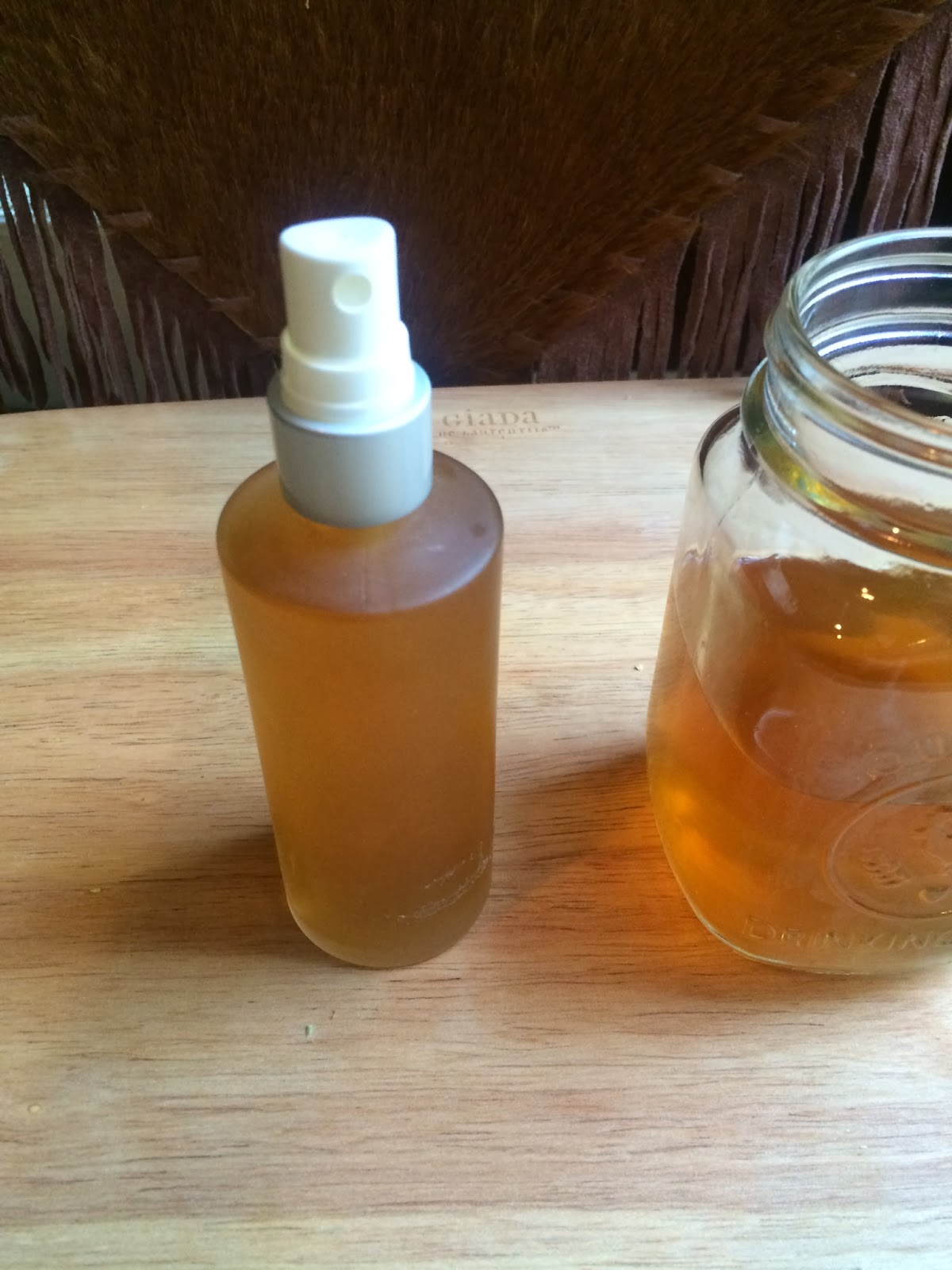 how to use herbal hair rinse