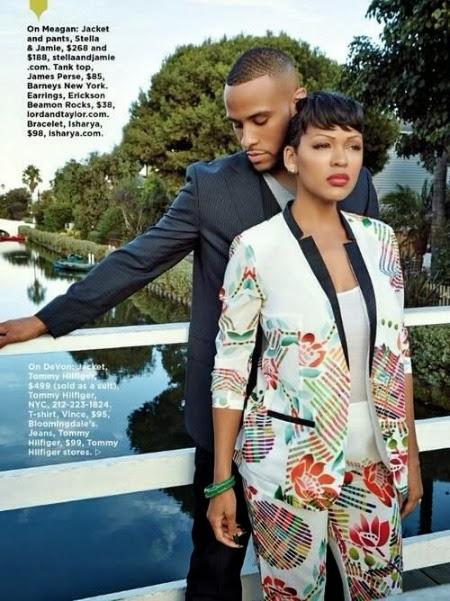Meagan Good Wedding.Meagan Good And Her Husband Devon Franklin In Essence Magazine
