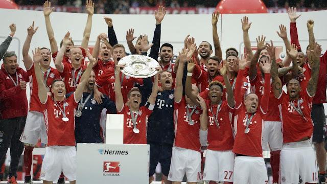 Todos os Campeões da Bundesliga