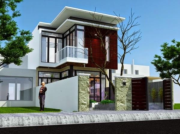 Thiết kế mẫu biệt thự đẹp 2 tầng hiện đại |  Mẫu nhà biệt thự