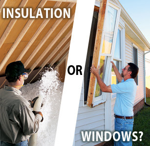 Upgrading Attic Insulation is More Cost Effective than Replacing Windows