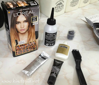 Sia S Obsessions L Oreal Preference Wild Ombres Czyli Ombre Hair W