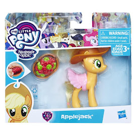 MLP Show and Tell Applejack Brushable Pony
