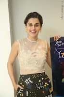 Taapsee Pannu in transparent top at Anando hma theatrical trailer launch ~  Exclusive 072.JPG