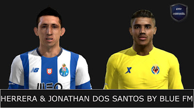 PES 2013 Herrera & Jonathan Dos Santos Face by BLUE FM