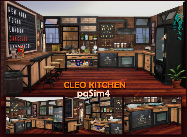 Carátula Cleo Kitchen.
