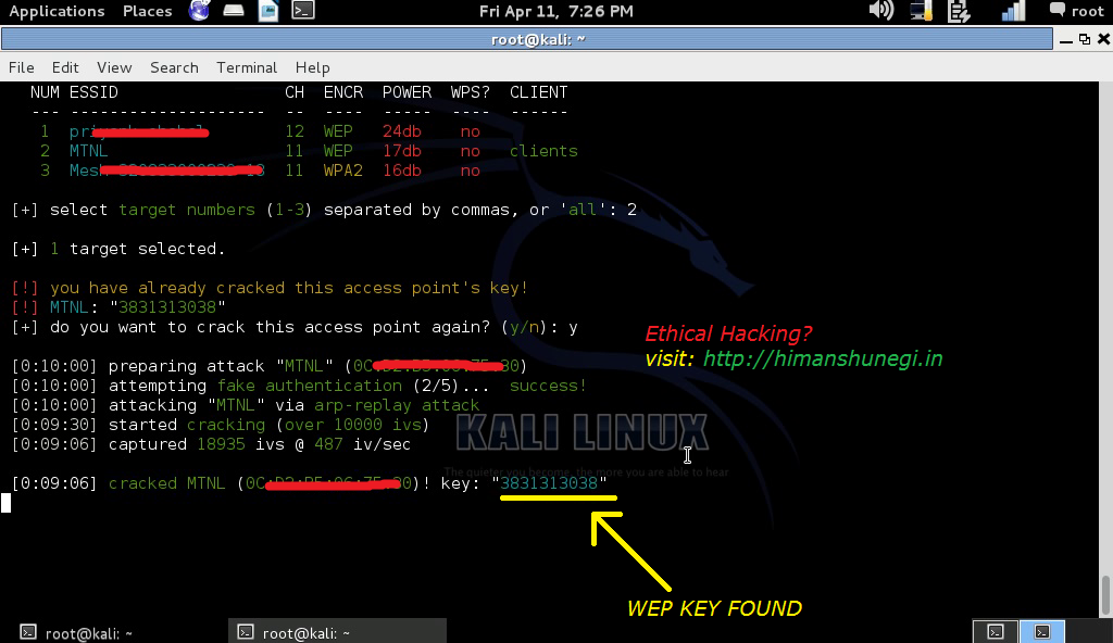 How To Install And Run WiFite On Kali Linux - Eldernode Blog