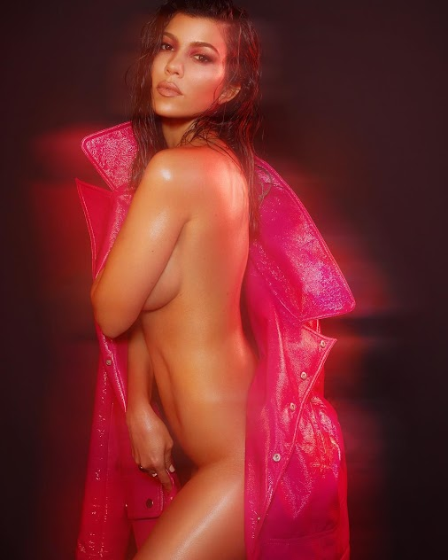 Kourtney Kardashian Poses Nude for 'V Magazine. Kourtney Kardashian Kourtney Kardashian Poses Nude for...