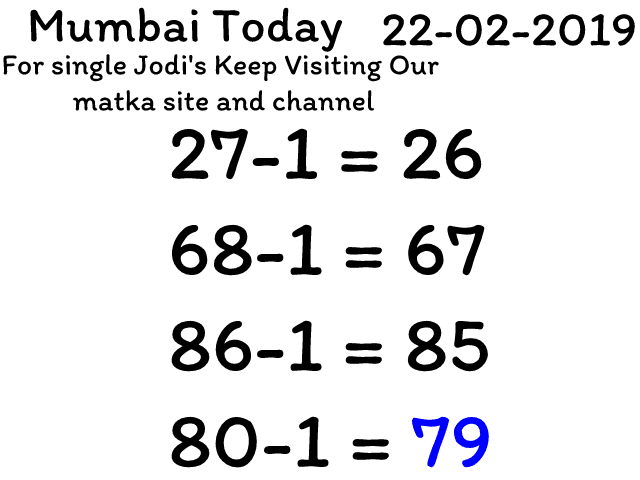 Mumbai Matka 22-2-2019 | Jabardast Pattern Lock | Kb Sm Tricks