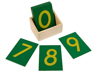 Montessori Sandpaper Numbers