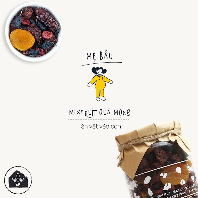 Mixfruits bổ sung dinh dưỡng cho Bà Bầu an thai