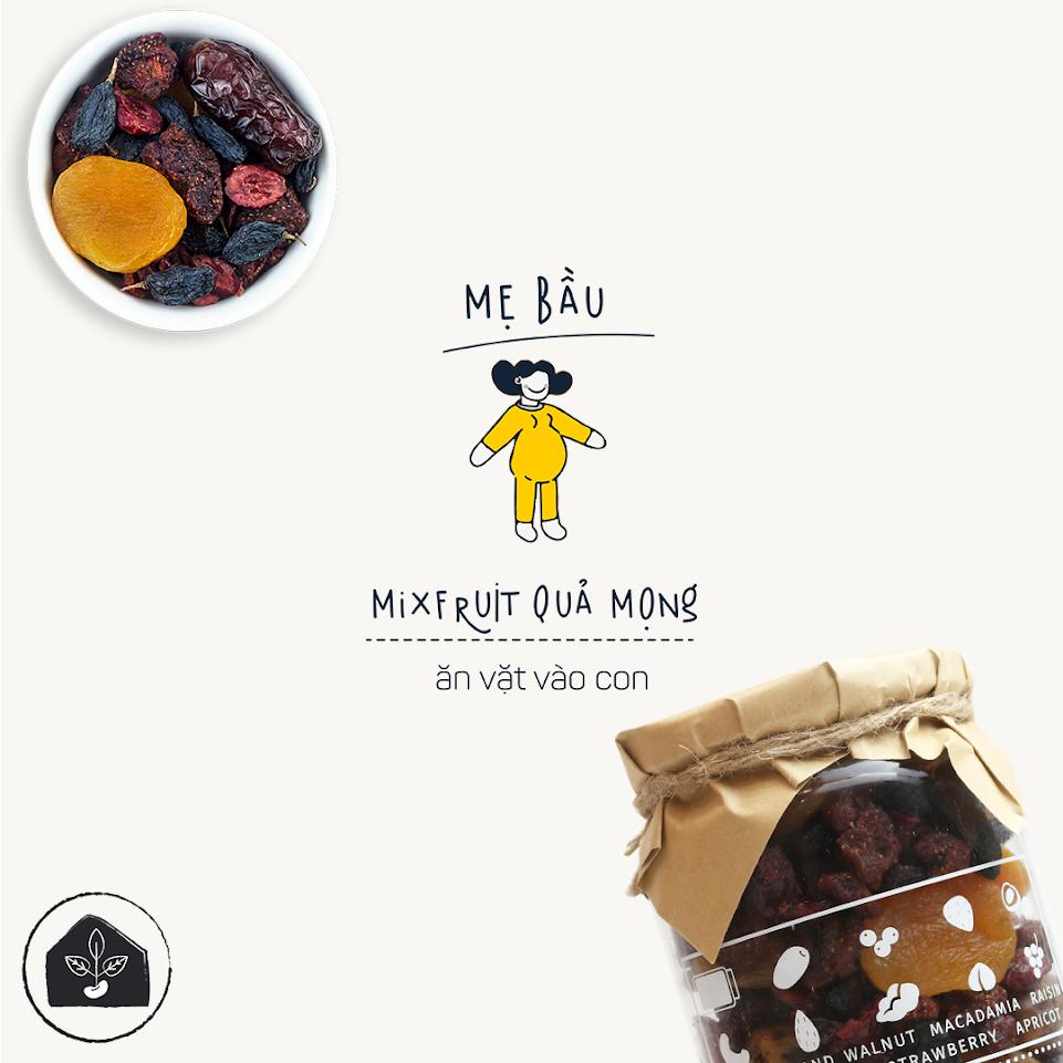 [A36] Mixnuts ăn vặt cho phụ nữ mang thai sử dụng