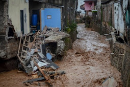 Dua Orang Meninggal. Probolinggo Banjir Bandang