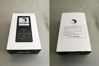 AGPtEK MP3プレーヤー『M07』商品パッケージ