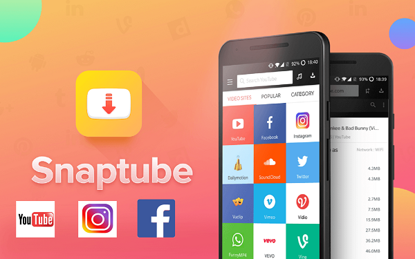 تطبيق Snaptube لتحميل الموسيقى والفيديوهات على الاندرويد