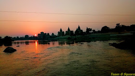 Sunset of Orchha