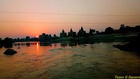 Sunset of Orchha